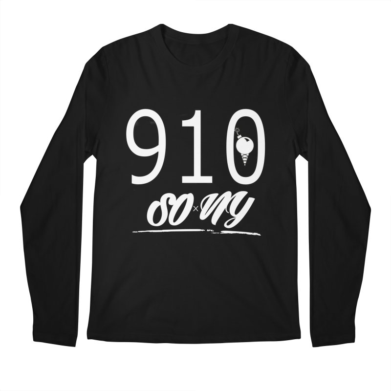 NC Area Code LIMITED S.O.xN.Y. Tee Men's Longsleeve T-Shirt by SOxNY OFFICIAL SHOP
