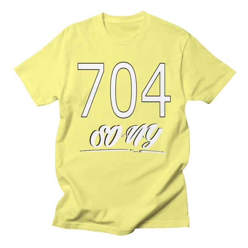 NC Area Codes S.O.xN.Y. Limited Tee Men's T-Shirt by SOxNY OFFICIAL SHOP