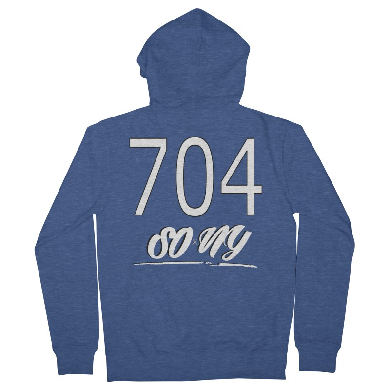 NC Area Codes S.O.xN.Y. Limited Tee Men's Zip-Up Hoody by SOxNY OFFICIAL SHOP