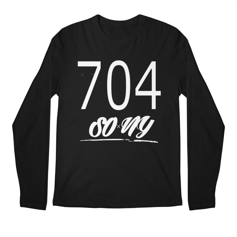 NC Area Codes S.O.xN.Y. Limited Tee Men's Longsleeve T-Shirt by SOxNY OFFICIAL SHOP