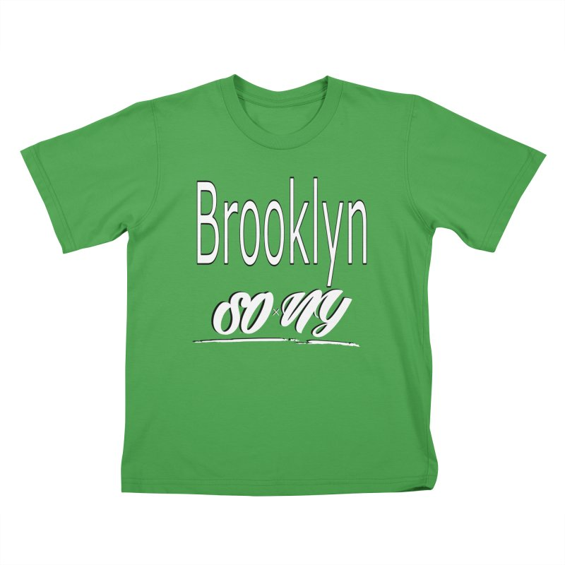 Brooklyn official S.O.xN.Y. Tee Kids T-Shirt by SOxNY OFFICIAL SHOP