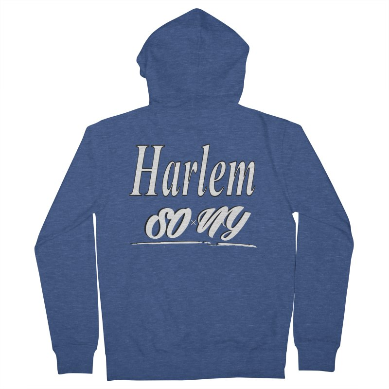 Harlem exclusive S.O.xN.Y. Tee Men's Zip-Up Hoody by SOxNY OFFICIAL SHOP