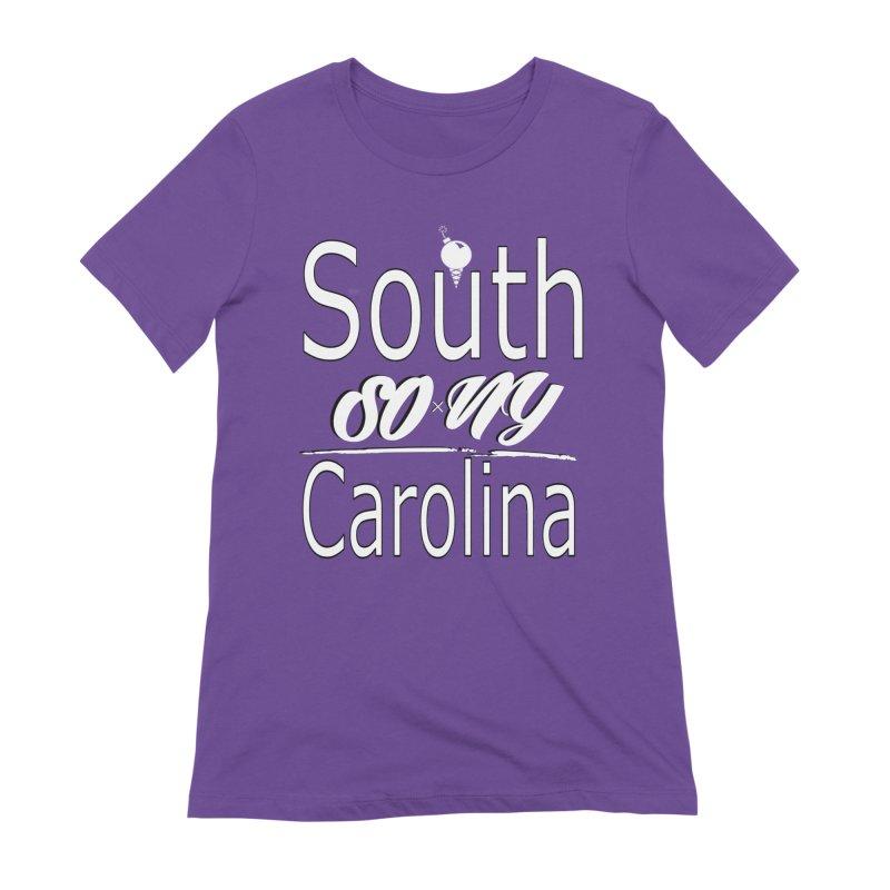South Carolina Official DJ S.O.xN.Y. Tee Women's T-Shirt by SOxNY OFFICIAL SHOP