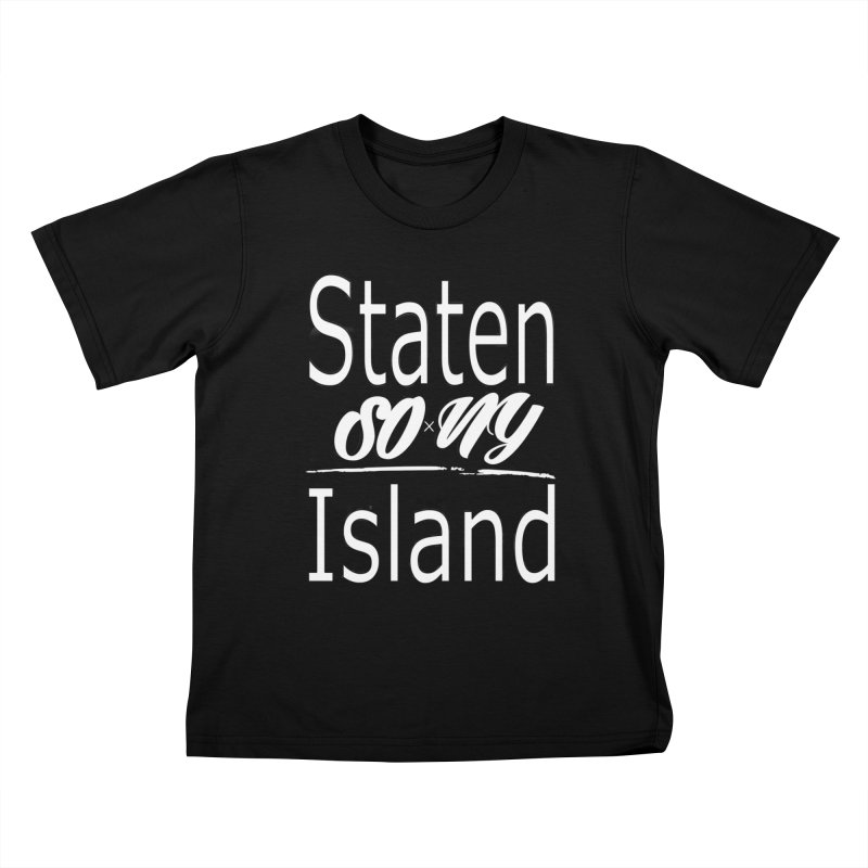 Staten Island official S.O.xN.Y. Collection Kids T-Shirt by SOxNY OFFICIAL SHOP