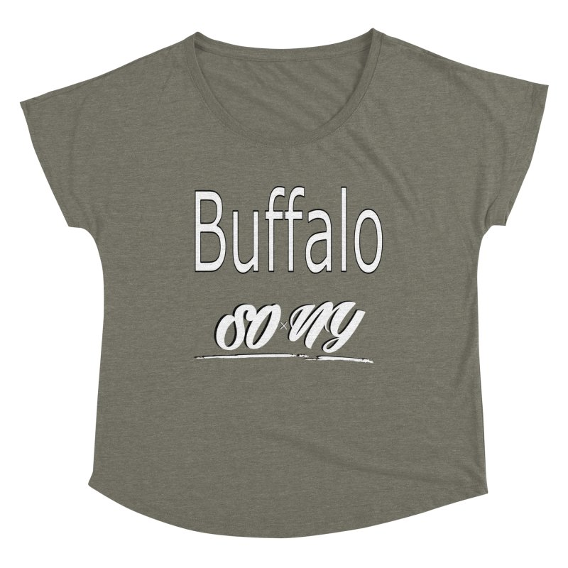 Buffalo NY Limited S.O.xN.Y. Tee Women's Scoop Neck by SOxNY OFFICIAL SHOP