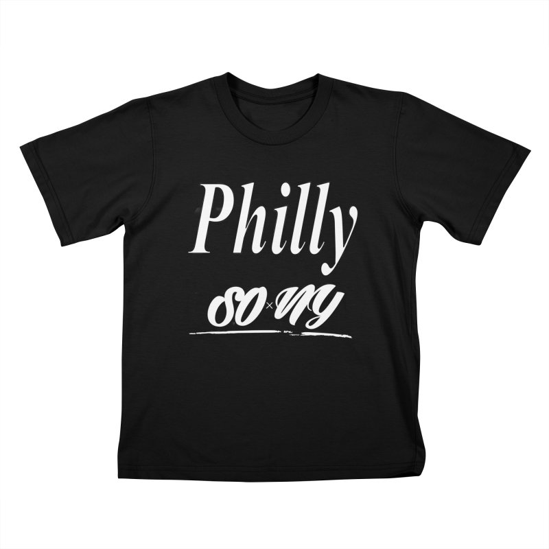 Philly limited S.O.xN.Y. Collection Kids T-Shirt by SOxNY OFFICIAL SHOP