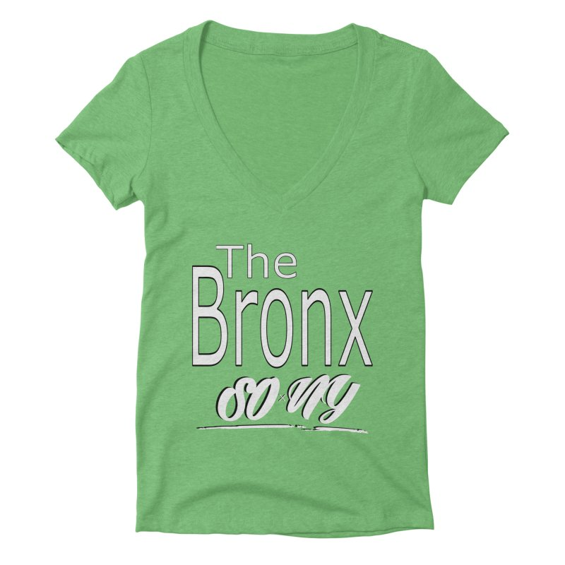S.O.xN.Y. Bronx Collection Women's V-Neck by SOxNY OFFICIAL SHOP