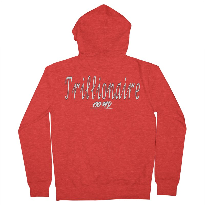 Trillionaire Collection Men's Zip-Up Hoody by SOxNY OFFICIAL SHOP