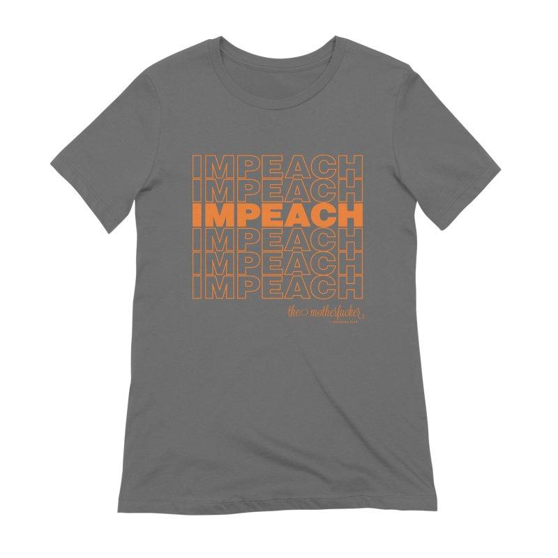 Impeach orange - NSFW Women's T-Shirt by random facts