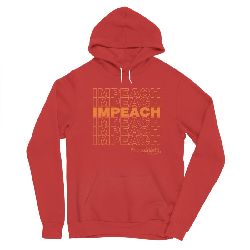 Impeach orange - NSFW Women's Pullover Hoody by random facts