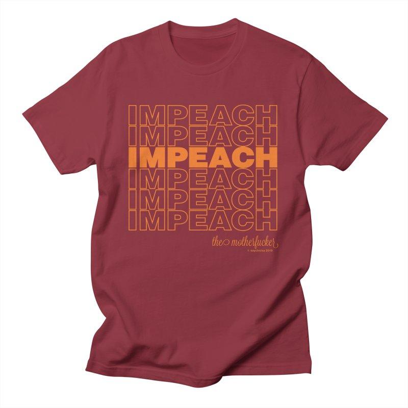 Impeach orange - NSFW Men's T-Shirt by random facts
