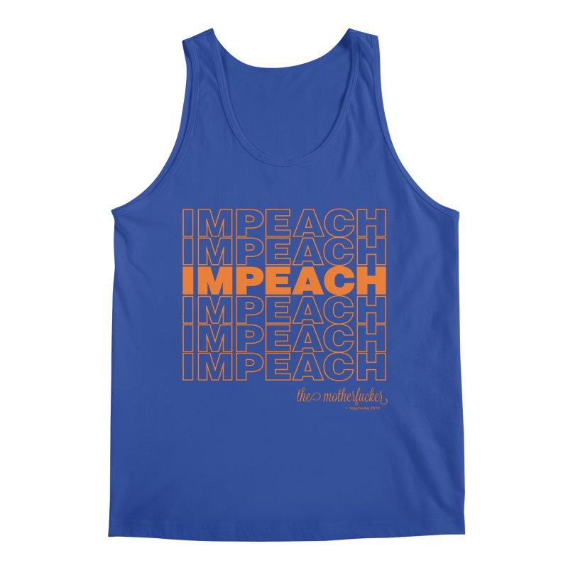 Impeach orange - NSFW Men's Tank by random facts