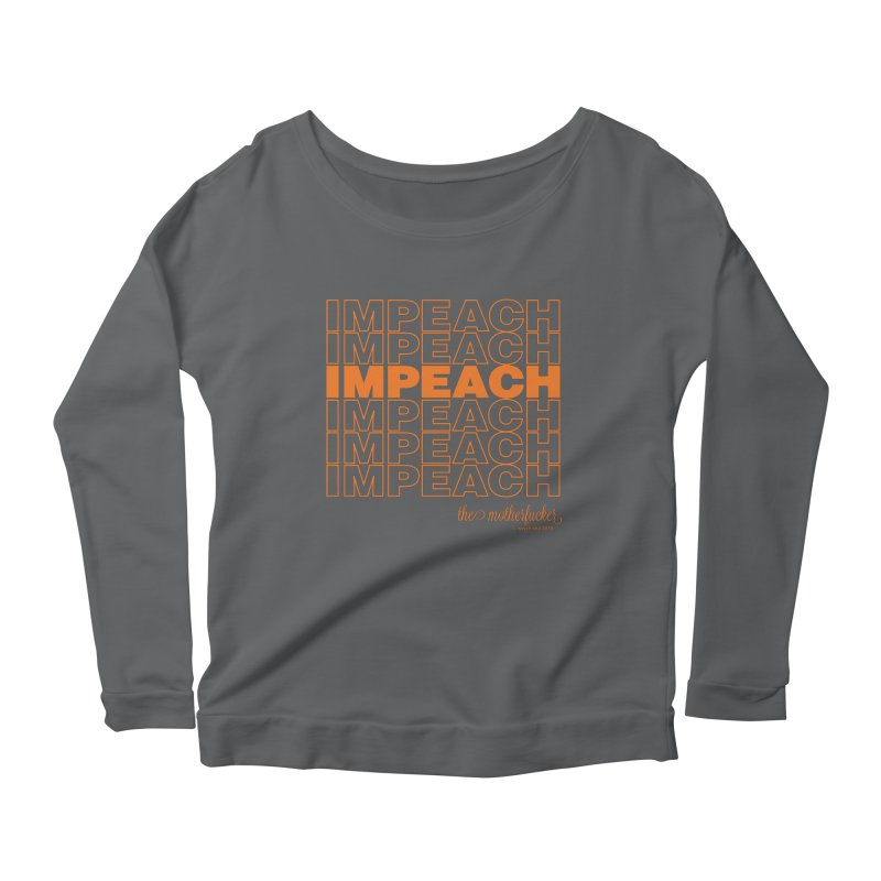 Impeach orange - NSFW Women's Longsleeve T-Shirt by random facts