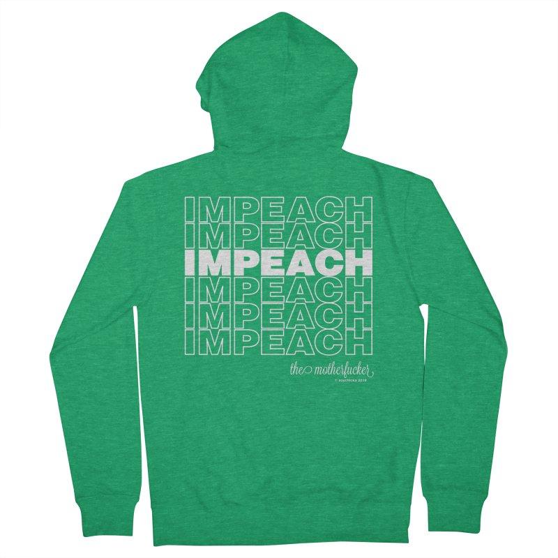 Impeach - NSFW Men's Zip-Up Hoody by random facts