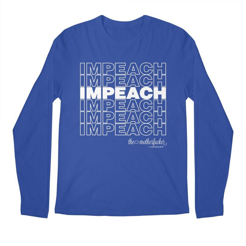 Impeach - NSFW Men's Longsleeve T-Shirt by random facts