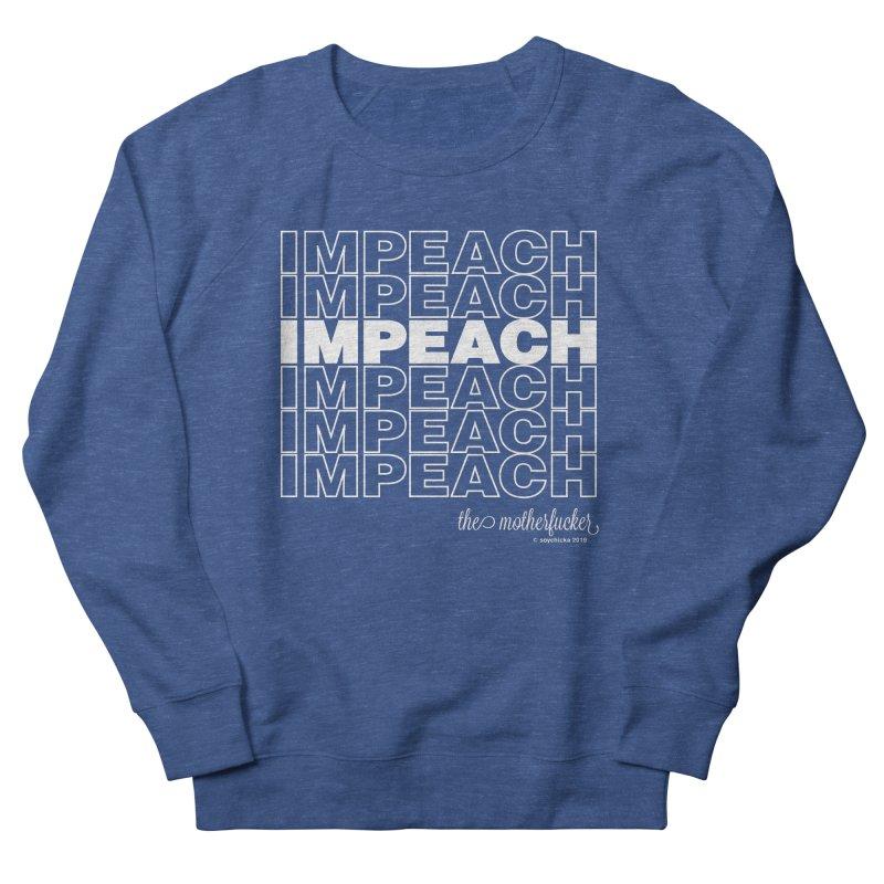 Impeach - NSFW Men's Sweatshirt by random facts