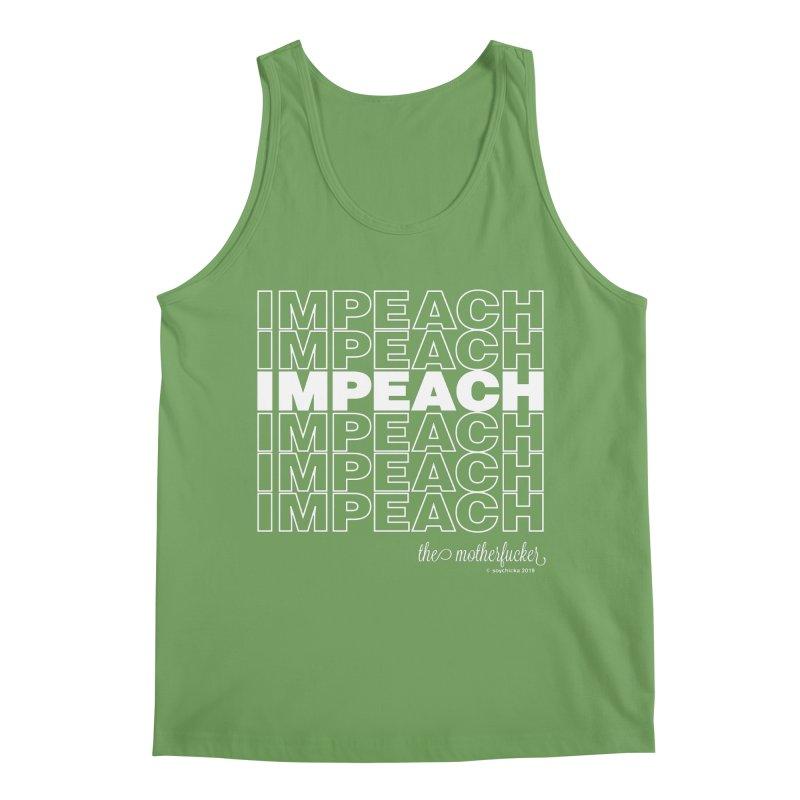 Impeach - NSFW Men's Tank by random facts