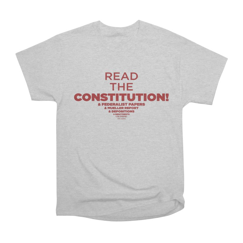 Read the Constitution! Men's T-Shirt by random facts