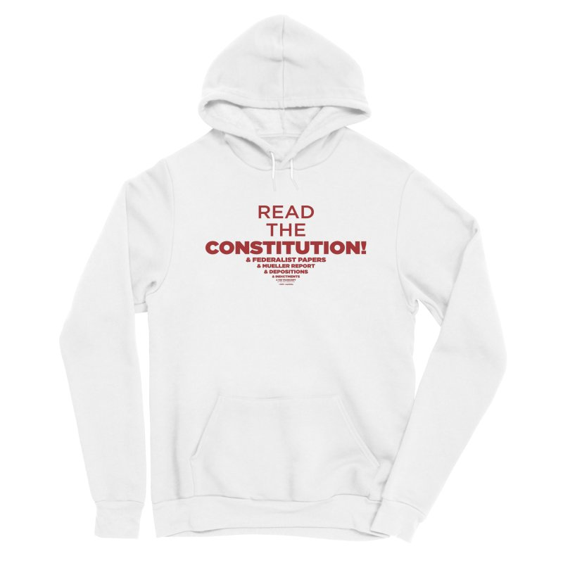 Read the Constitution! Men's Pullover Hoody by random facts