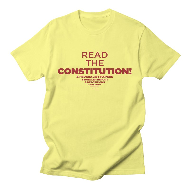 Read the Constitution! Women's T-Shirt by random facts
