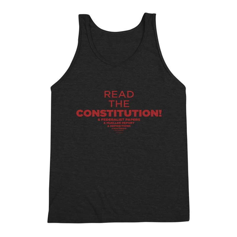 Read the Constitution! Men's Tank by random facts