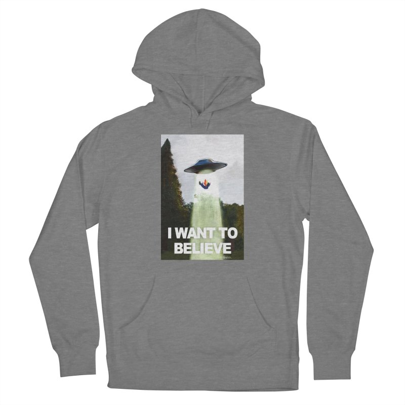 I Want To Believe Women's Pullover Hoody by random facts
