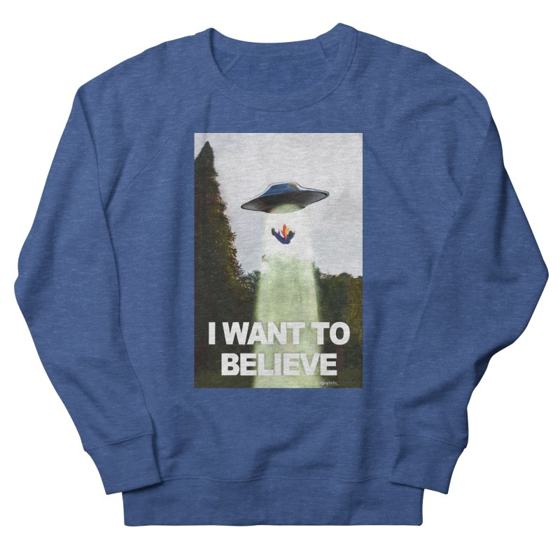 I Want To Believe Women's Sweatshirt by random facts