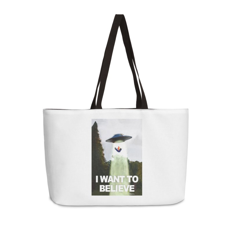 I Want To Believe Accessories Bag by random facts