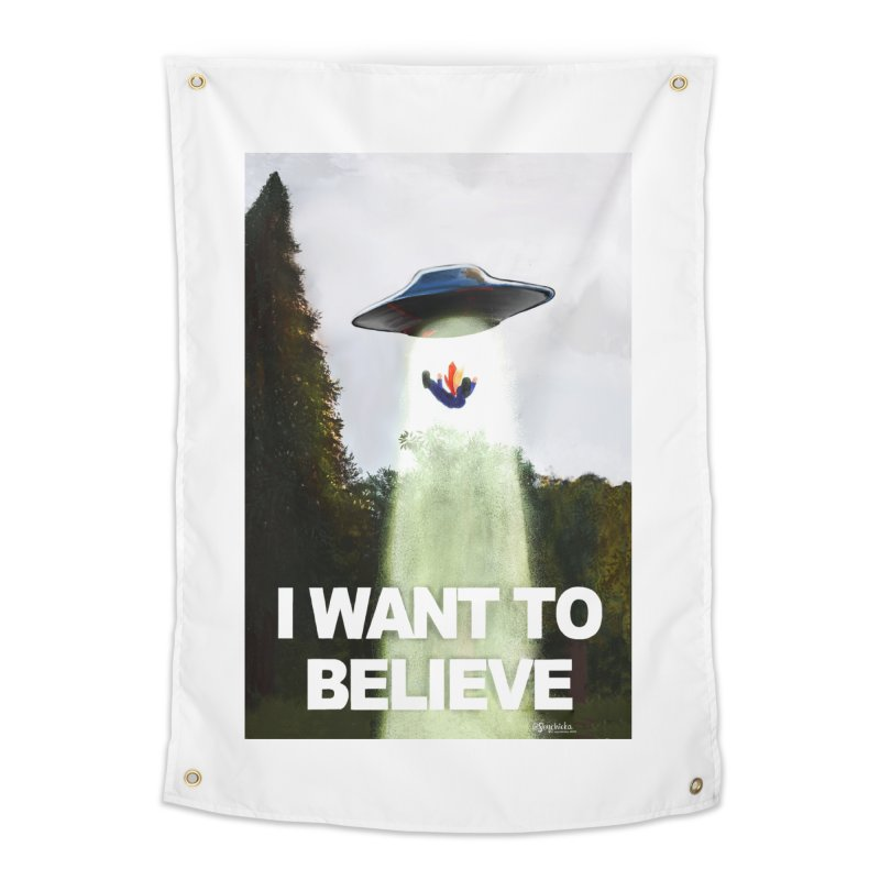 I Want To Believe Home Tapestry by random facts