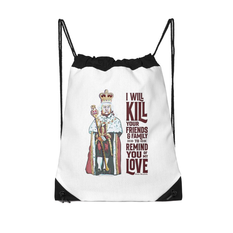 I wil kill your friends and family to remind you of my love (dark text) Accessories Bag by random facts