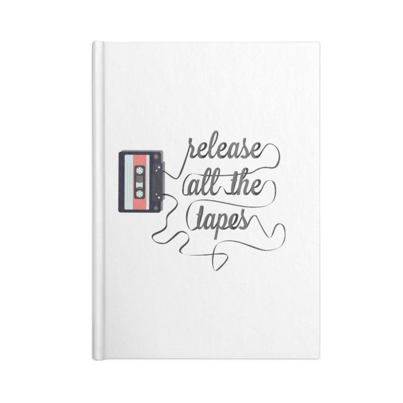 release all the tapes Accessories Notebook by random facts