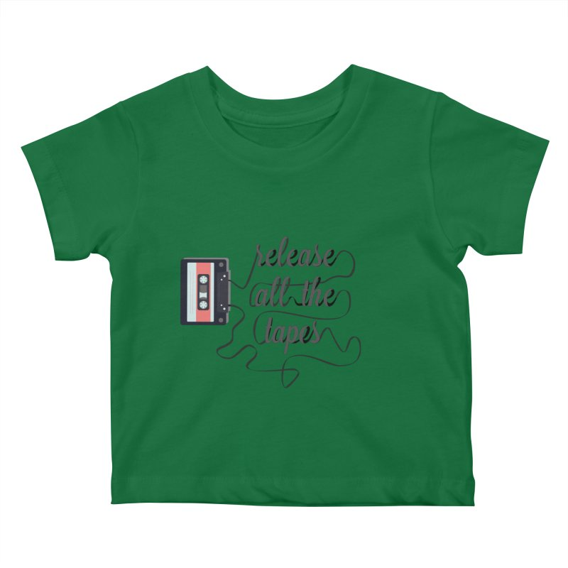release all the tapes Kids Baby T-Shirt by random facts