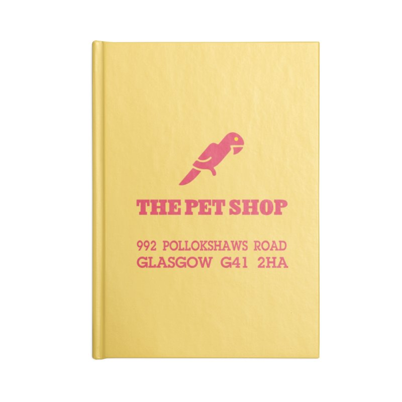 Postmodern Pet Shop Accessories Notebook by random facts