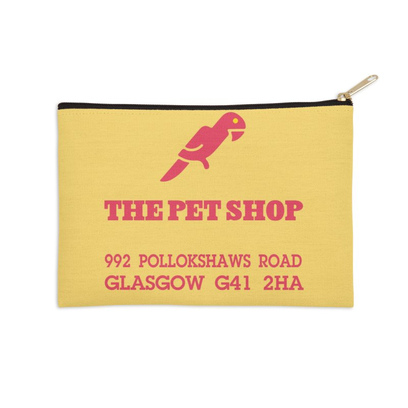 Postmodern Pet Shop Accessories Zip Pouch by random facts