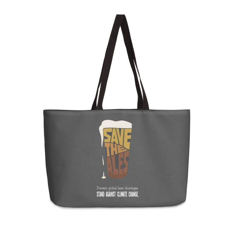 Save the Ales (20th anniversary remix) Accessories Bag by random facts