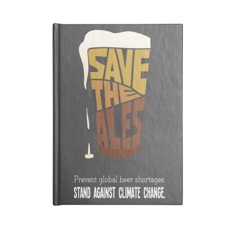Save the Ales (20th anniversary remix) Accessories Notebook by random facts