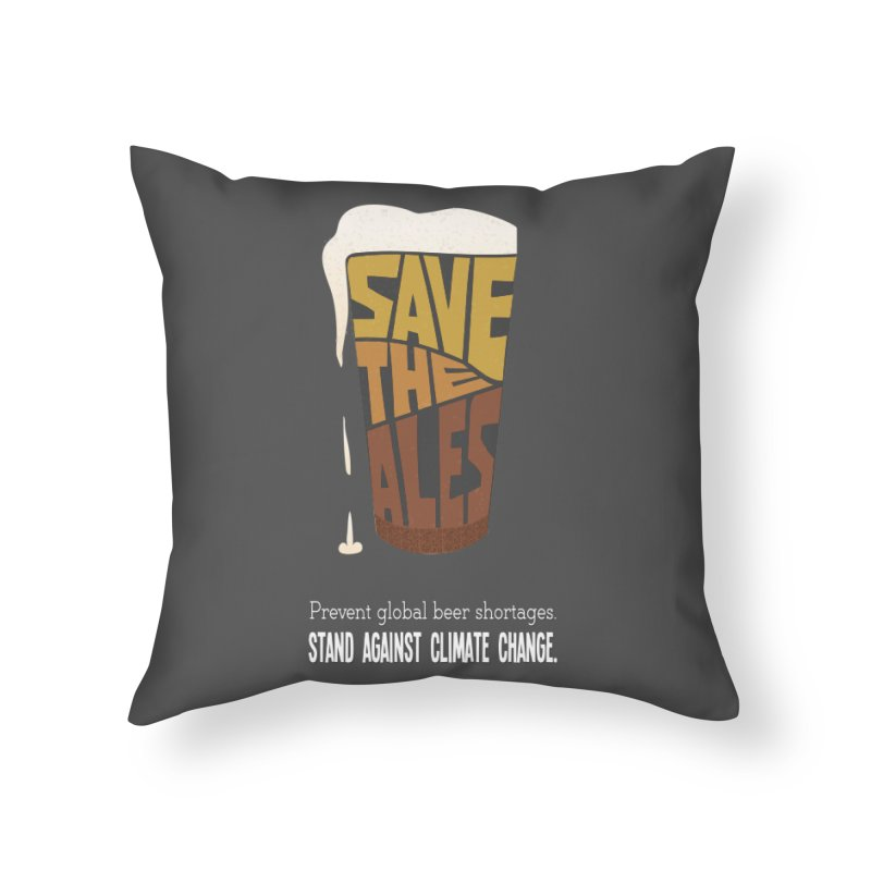 Save the Ales (20th anniversary remix) Home Throw Pillow by random facts