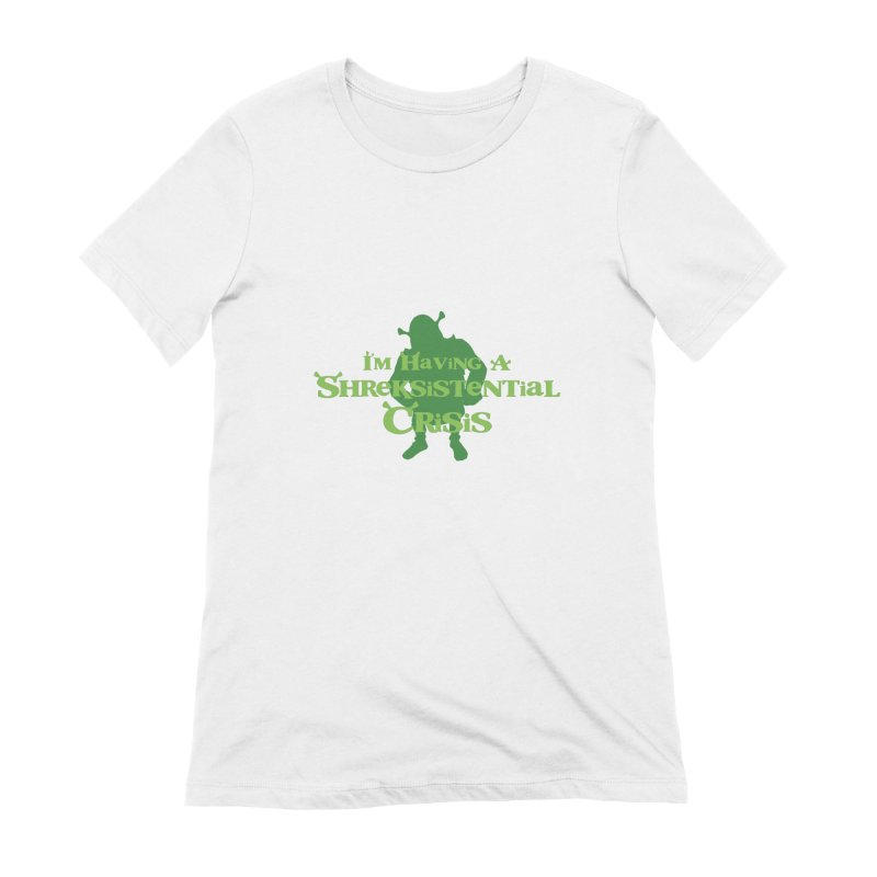 Shreksistential Crisis Tee Women's Extra Soft T-Shirt by So Yesterday