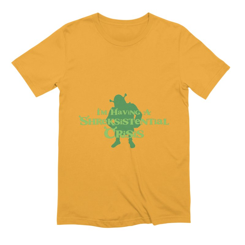 Shreksistential Crisis Tee Men's Extra Soft T-Shirt by So Yesterday