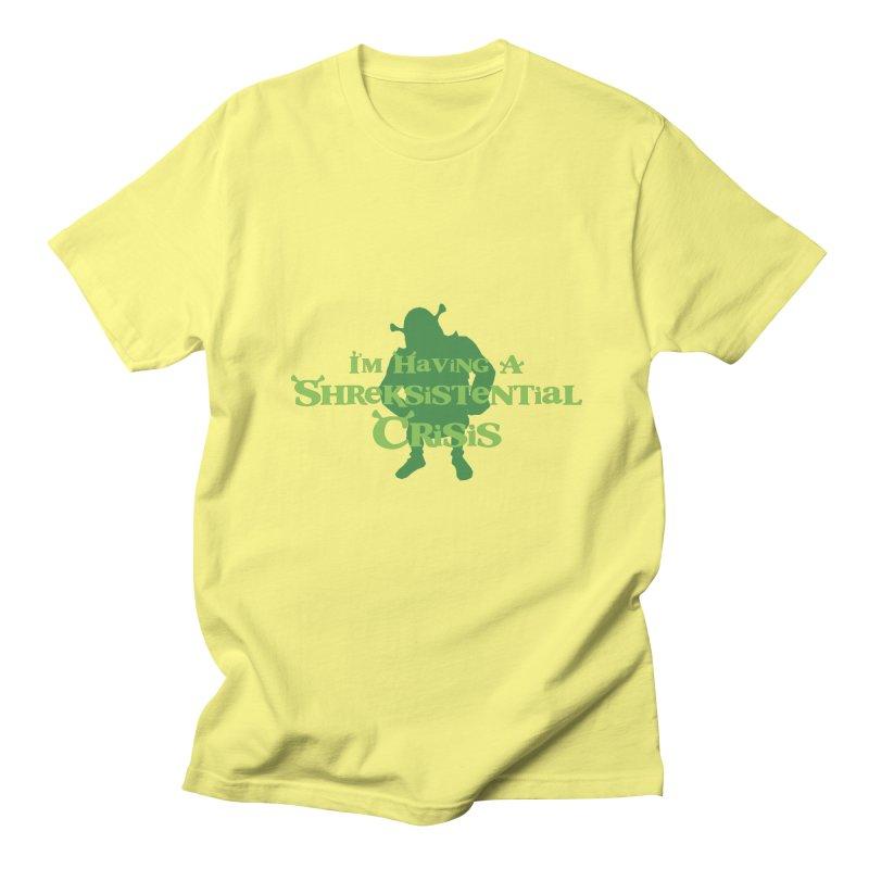 Shreksistential Crisis Tee Men's Regular T-Shirt by So Yesterday