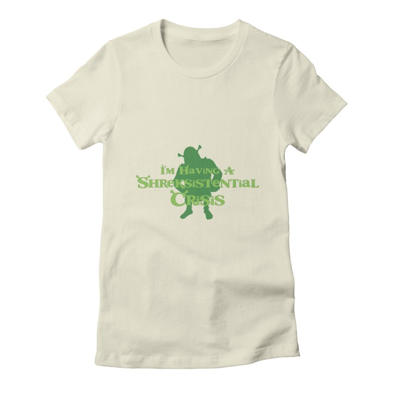 Shreksistential Crisis Tee Women's Fitted T-Shirt by So Yesterday