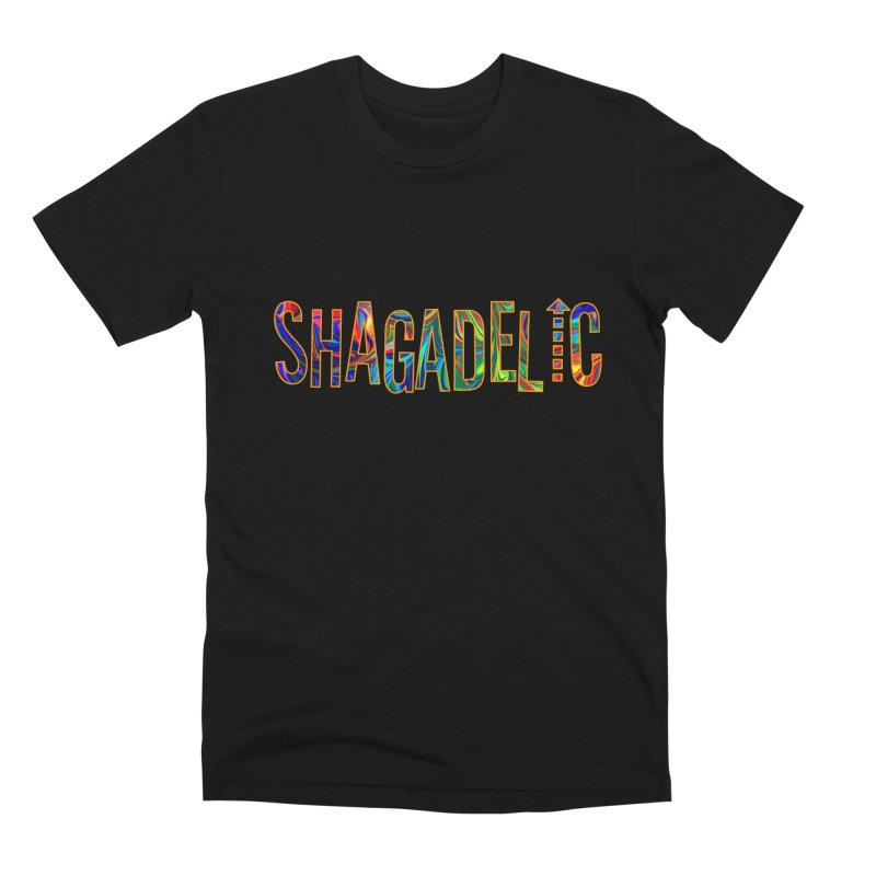 Shagadelic Tee Men's Premium T-Shirt by So Yesterday