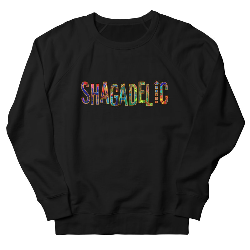 Shagadelic Tee in Men's French Terry Sweatshirt Black by So Yesterday