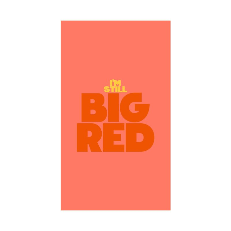 Big Red Phone Case by So Yesterday