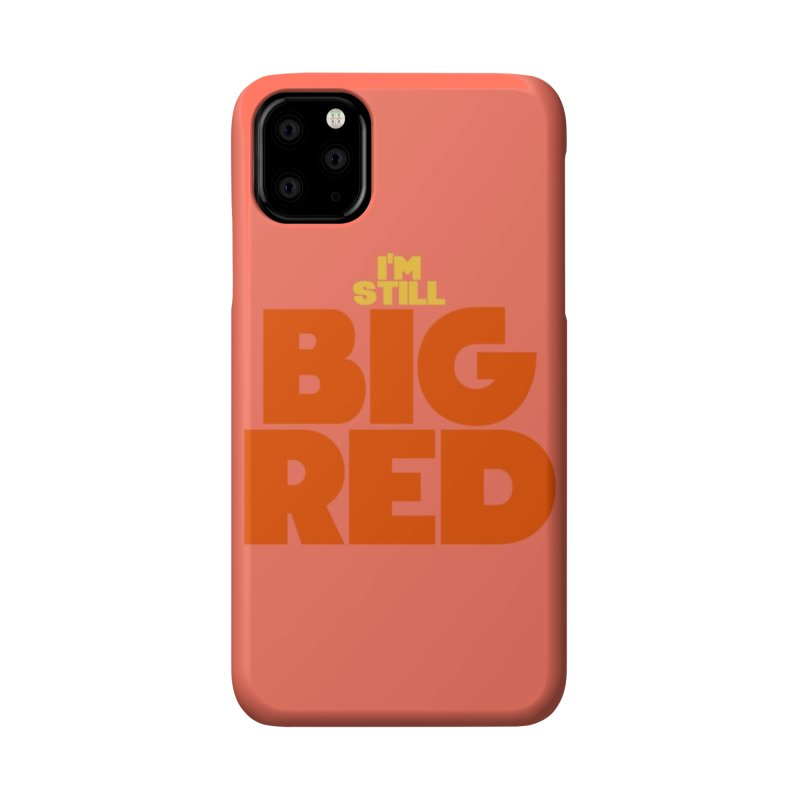 Big Red Phone Case Accessories Phone Case by So Yesterday