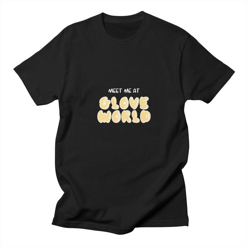 Spongebob Glove World Tee Men's Regular T-Shirt by So Yesterday