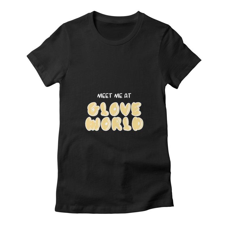 Spongebob Glove World Tee Women's Fitted T-Shirt by So Yesterday