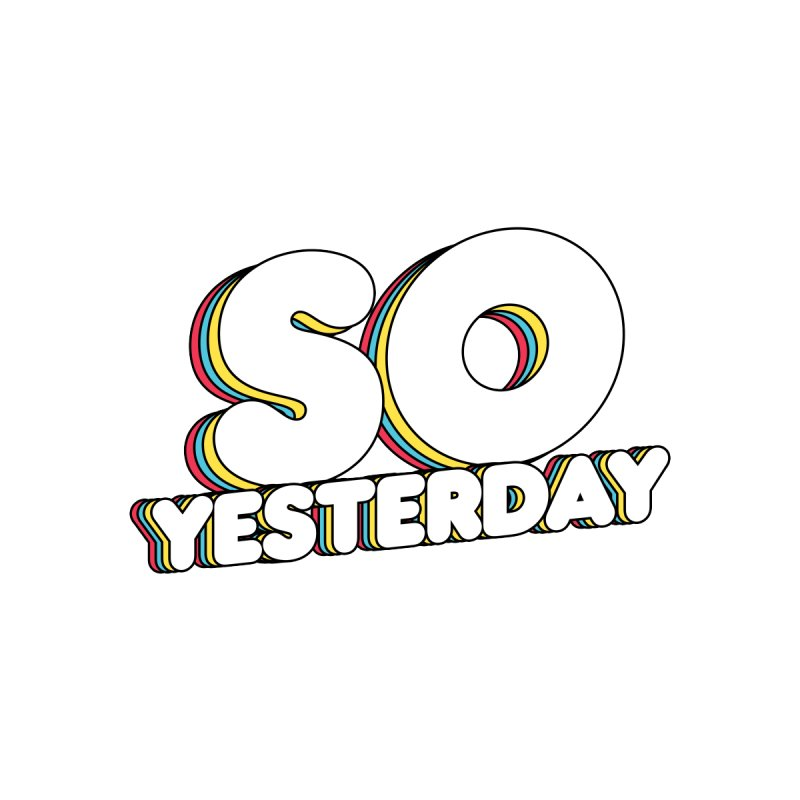 Logo Tee Men's T-Shirt by So Yesterday