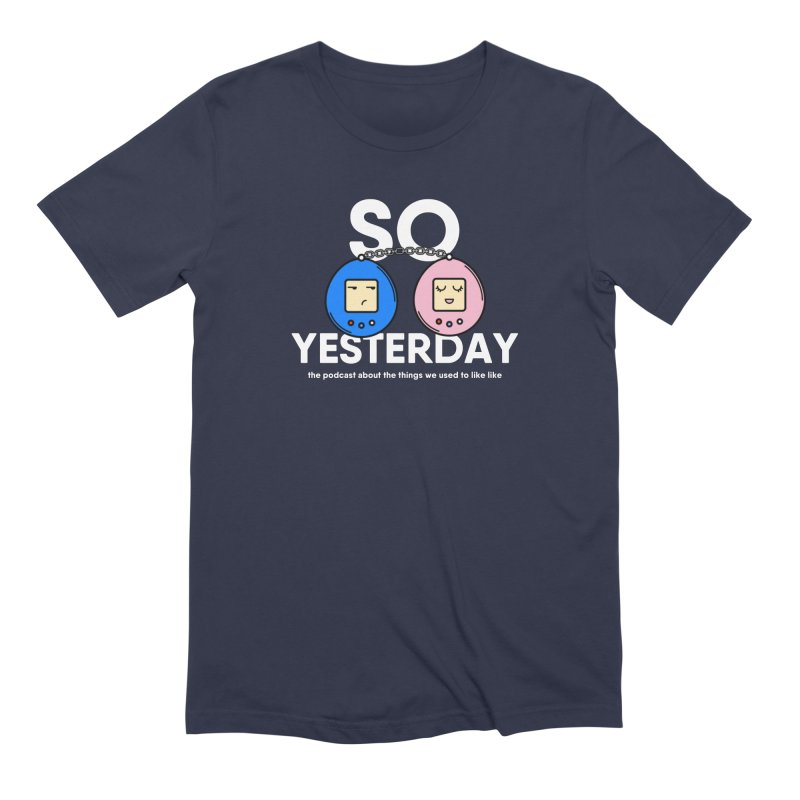So Yesterday Logo Tee Men's Extra Soft T-Shirt by So Yesterday