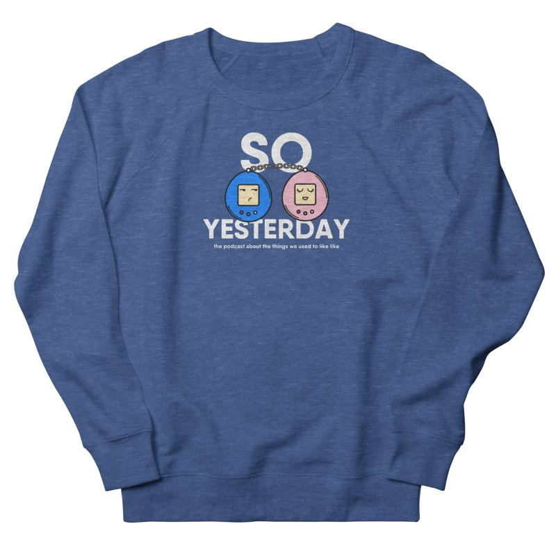 So Yesterday Logo Tee Men's French Terry Sweatshirt by So Yesterday